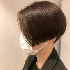 ショート ショートヘア ハンサムショート モード ヘアスタイルや髪型の写真・画像