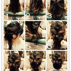 大人かわいい ヘアアレンジ ショート 簡単ヘアアレンジ ヘアスタイルや髪型の写真・画像