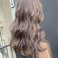 アンニュイほつれヘア ブルージュ アッシュグレージュ ロング ヘアスタイルや髪型の写真・画像