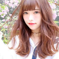 フェミニン モテ髪 ゆるふわ ヘアアレンジ ヘアスタイルや髪型の写真・画像