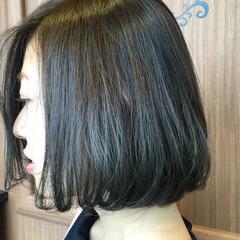 透明感 色気 外国人風カラー グレージュ ヘアスタイルや髪型の写真・画像