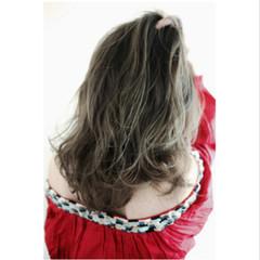 ハイライト 外国人風カラー アッシュ 外国人風 ヘアスタイルや髪型の写真・画像