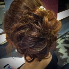 モテ髪 ゆるふわ 愛され アップスタイル ヘアスタイルや髪型の写真・画像