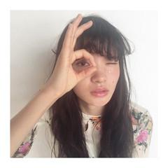 ゆるふわ パーマ フェミニン ガーリー ヘアスタイルや髪型の写真・画像