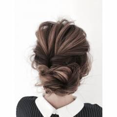ヘアアレンジ ガーリー モテ髪 愛され ヘアスタイルや髪型の写真・画像