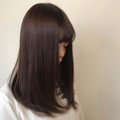 上品 エレガント 春 グレージュ ヘアスタイルや髪型の写真・画像