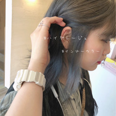 大人可愛い グレージュ フェミニン 透明感 ヘアスタイルや髪型の写真・画像