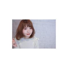 フェミニン ボブ 小顔 大人女子 ヘアスタイルや髪型の写真・画像