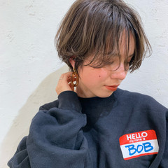 小顔ヘア ショートヘア ショート 大人可愛い ヘアスタイルや髪型の写真・画像