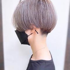 ショート ベリーショート 大人かわいい 簡単スタイリング ヘアスタイルや髪型の写真・画像