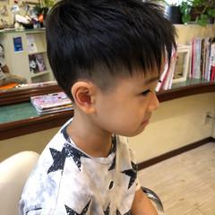 ショート ストリート キッズカット ツーブロック ヘアスタイルや髪型の写真・画像