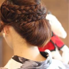 愛され 編み込み 夏 モテ髪 ヘアスタイルや髪型の写真・画像