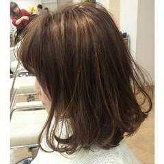 アッシュ 前髪あり 外国人風 ハイライト ヘアスタイルや髪型の写真・画像