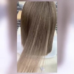 髪質改善カラー ストレート 髪質改善トリートメント ナチュラル ヘアスタイルや髪型の写真・画像