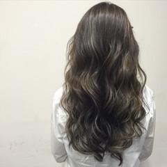 ガーリー グラデーションカラー ハイライト 外国人風 ヘアスタイルや髪型の写真・画像
