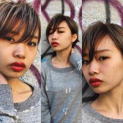 ハイライト メンズ グラデーションカラー モード ヘアスタイルや髪型の写真・画像