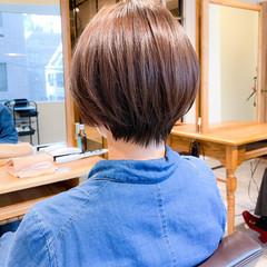 コンパクトショート ショートヘア トリートメント 小顔ショート ヘアスタイルや髪型の写真・画像