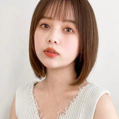 縮毛矯正 ナチュラル アンニュイほつれヘア 縮毛矯正ストカール ヘアスタイルや髪型の写真・画像