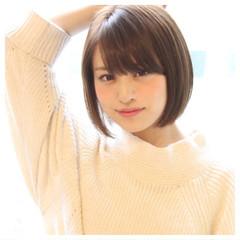 ガーリー 似合わせ 小顔 ショート ヘアスタイルや髪型の写真・画像