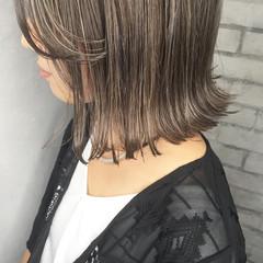 ボブ 外国人風 ハイライト ストリート ヘアスタイルや髪型の写真・画像