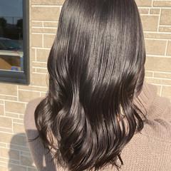 透明感カラー エレガント ブリーチなし グレージュ ヘアスタイルや髪型の写真・画像
