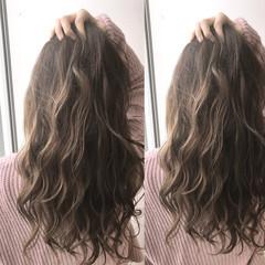ナチュラル ハイライト 外国人風 ロング ヘアスタイルや髪型の写真・画像