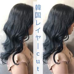 ナチュラル ウルフカット 韓国 外国人風カラー ヘアスタイルや髪型の写真・画像