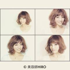 モテ髪 愛され 逆三角形 コンサバ ヘアスタイルや髪型の写真・画像