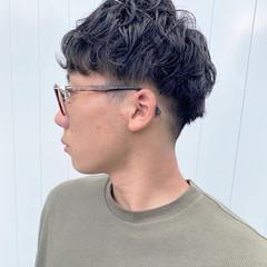 メンズマッシュ メンズパーマ メンズ メンズカット ヘアスタイルや髪型の写真・画像