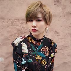 ハイトーン ショート ストリート ヘアスタイルや髪型の写真・画像
