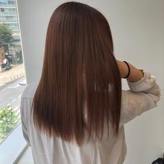 縮毛矯正 髪質改善トリートメント 髪質改善 ナチュラル ヘアスタイルや髪型の写真・画像