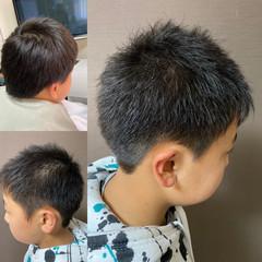 メンズショート ショート ツーブロック メンズカット ヘアスタイルや髪型の写真・画像