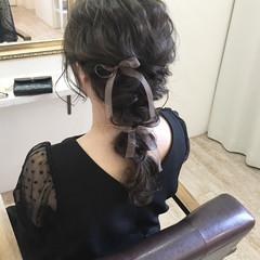 ロング ナチュラル アッシュ 花嫁 ヘアスタイルや髪型の写真・画像