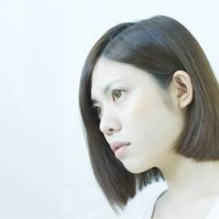 ショート フェミニン グラデーションカラー ボブ ヘアスタイルや髪型の写真・画像