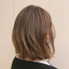外ハネボブ 外ハネ ボブ 切りっぱなしボブ ヘアスタイルや髪型の写真・画像