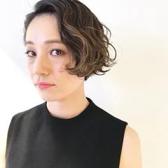 グレージュ 外国人風カラー ハイライト 外国人風 ヘアスタイルや髪型の写真・画像