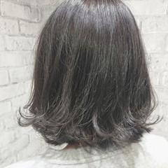 こなれ感 外ハネ ボブ 外国人風カラー ヘアスタイルや髪型の写真・画像