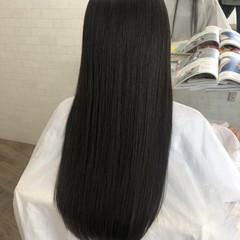 縮毛矯正 エレガント 縮毛矯正ストカール 艶髪 ヘアスタイルや髪型の写真・画像