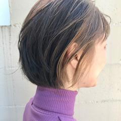 ボブ ブリーチ ヘアカラー インナーカラー ヘアスタイルや髪型の写真・画像