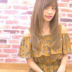 透明感カラー 大人かわいい 外国人風カラー ナチュラル ヘアスタイルや髪型の写真・画像