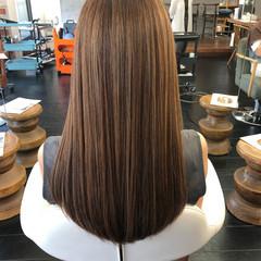 ロング 髪質改善 エレガント 髪質改善トリートメント ヘアスタイルや髪型の写真・画像