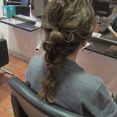 ゆるふわ くるりんぱ 波ウェーブ ラフ ヘアスタイルや髪型の写真・画像