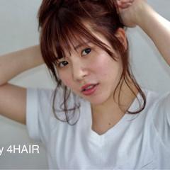 ウェットヘア ゆるふわ 抜け感 セミロング ヘアスタイルや髪型の写真・画像