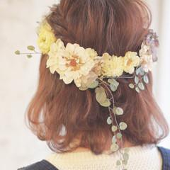 ショート ボブ ヘアアレンジ 簡単ヘアアレンジ ヘアスタイルや髪型の写真・画像