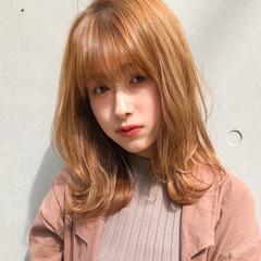 鎖骨ミディアム エレガント ひし形シルエット デジタルパーマ ヘアスタイルや髪型の写真・画像
