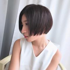 ショートボブ 大人女子 似合わせ ショート ヘアスタイルや髪型の写真・画像