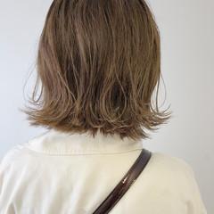 外ハネボブ ボブ ガーリー 外国人風カラー ヘアスタイルや髪型の写真・画像