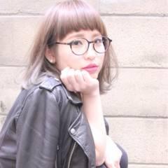 ガーリー 黒髪 ショート アッシュ ヘアスタイルや髪型の写真・画像