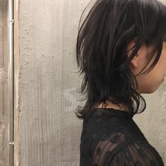 ミディアム アウトドア デート 結婚式 ヘアスタイルや髪型の写真・画像