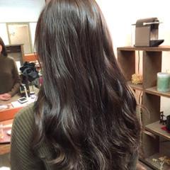 グレーアッシュ ストリート 外国人風カラー グレージュ ヘアスタイルや髪型の写真・画像